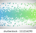 background of blue and green... | Shutterstock . vector #111216290