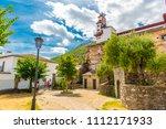 zahara de la sierra  beautiful...   Shutterstock . vector #1112171933