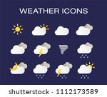 complete set of modern...   Shutterstock .eps vector #1112173589