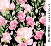 beautiful bright watercolor... | Shutterstock . vector #1112173706