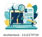 vector illustration  small... | Shutterstock .eps vector #1112175710