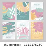 abstract colorful backgrounds... | Shutterstock .eps vector #1112176250