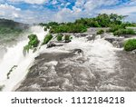 wide angle landscape view of... | Shutterstock . vector #1112184218