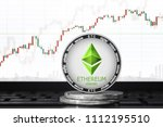 ethereum classic  etc ... | Shutterstock . vector #1112195510