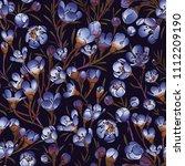 vector seamless  pattern ... | Shutterstock .eps vector #1112209190
