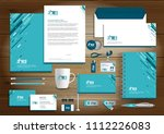corporate identity business ... | Shutterstock .eps vector #1112226083