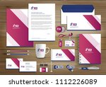corporate identity business ... | Shutterstock .eps vector #1112226089