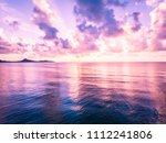 beautiful aerial view of beach...   Shutterstock . vector #1112241806