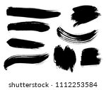 set of korean  chinese ... | Shutterstock .eps vector #1112253584