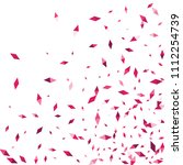 confetti of two colored rhombs... | Shutterstock .eps vector #1112254739