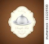 illustration of template for... | Shutterstock .eps vector #111225530