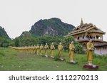 Golden Pagoda At Wat Sao Roi...