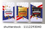 usa independence day sale... | Shutterstock .eps vector #1112293040