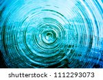 top view closeup blue water... | Shutterstock . vector #1112293073