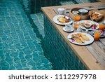 concept promotional morning... | Shutterstock . vector #1112297978