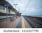 manarola  italy   18 september... | Shutterstock . vector #1112317790