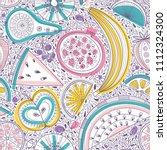 vector seamless pattern... | Shutterstock .eps vector #1112324300