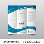 business brochure. flyer design.... | Shutterstock .eps vector #1112328329