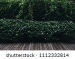 old hardwood decking or... | Shutterstock . vector #1112332814