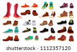 Footwear Set. Stylish Shoes....
