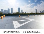 panoramic skyline and buildings ... | Shutterstock . vector #1112358668
