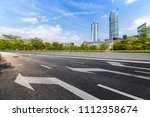 panoramic skyline and buildings ... | Shutterstock . vector #1112358674