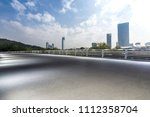 panoramic skyline and buildings ... | Shutterstock . vector #1112358704