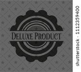 deluxe product retro style... | Shutterstock .eps vector #1112359400