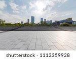 panoramic skyline and buildings ... | Shutterstock . vector #1112359928