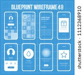 mobile wireframe prototype...