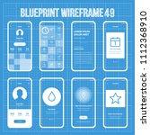 mobile wireframe prototype...