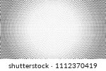 halftone dotted background.... | Shutterstock .eps vector #1112370419