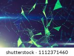abstract geometric background... | Shutterstock . vector #1112371460