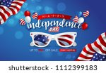 independence day usa sale... | Shutterstock .eps vector #1112399183