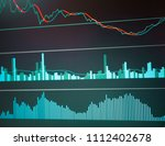 charts of financial instruments ... | Shutterstock . vector #1112402678