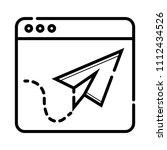 web browser concept icon