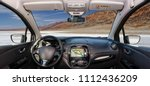 looking through a car... | Shutterstock . vector #1112436209