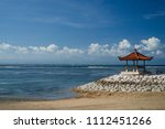 tourism and recreation at bali  ... | Shutterstock . vector #1112451266