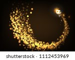 football cup gold color... | Shutterstock .eps vector #1112453969