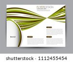 flyer  brochure  billboard... | Shutterstock .eps vector #1112455454
