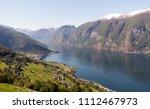 stegastein lookout beautiful... | Shutterstock . vector #1112467973