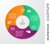 circle arrows for infographics. ... | Shutterstock .eps vector #1112471270