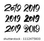 vector illustration  set of... | Shutterstock .eps vector #1112475833