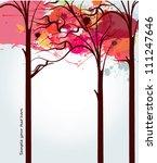 autumn background   Shutterstock .eps vector #111247646