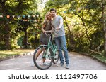 full length image of happy... | Shutterstock . vector #1112497706