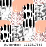 seamless pattern abstract... | Shutterstock .eps vector #1112517566