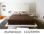 interior design  modern bedroom | Shutterstock . vector #111253454