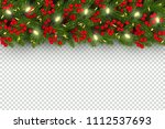 christmas and new year... | Shutterstock .eps vector #1112537693