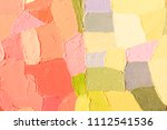 hand drawn oil painting....   Shutterstock . vector #1112541536