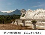 statue of sleeping buddha at... | Shutterstock . vector #1112547653